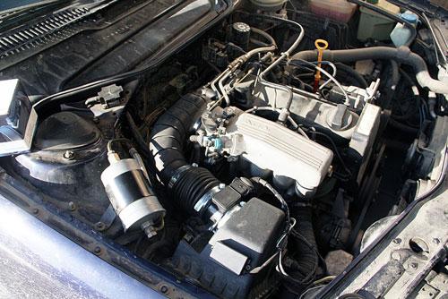 Операция Прощай лопата на автомобиле Audi A6 (4A) 2.0 ABK 95