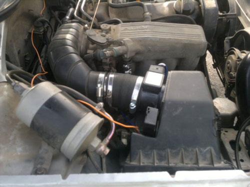Расходомер воздуха,  Audi A6 2.0 ABK АКПП 1996г. Клима
