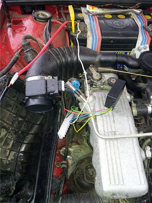 Проверка контроллера, 80 Б4 2л АБК. 92г.