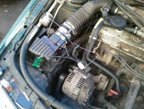 Эмулятор ПНД, VW passat B4 2e Digifant