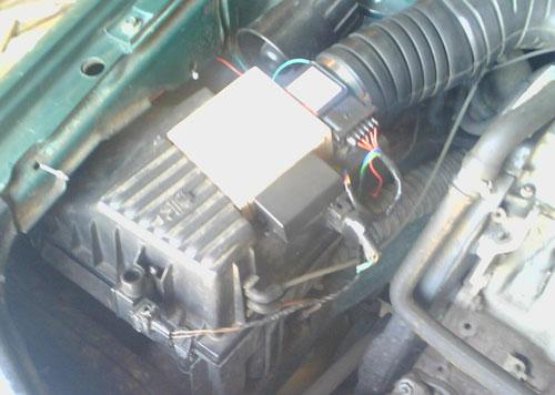Установка контроллера, VolksWagen 2E