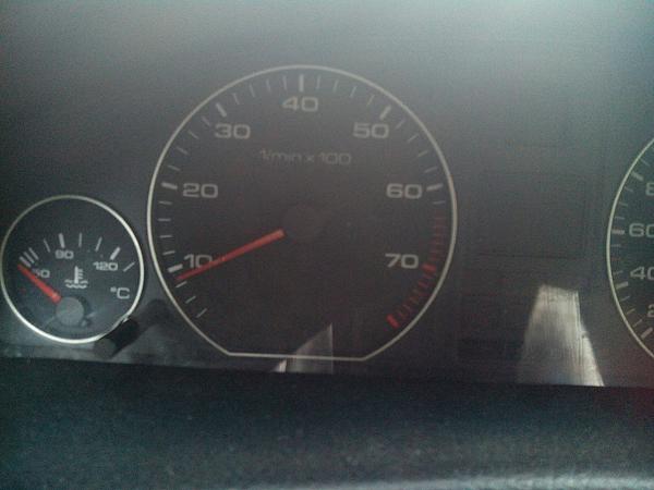 Обороты плавают Audi ABK