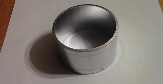 алюминиевое кольцо на расходомер от Волги
