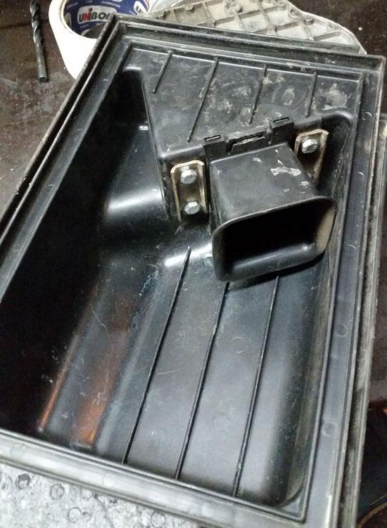Крышка расходомера Opel C20NE