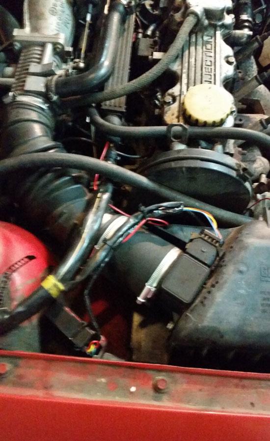 Расходомер Opel C20NE