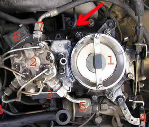 102 двигатель мерседес схема
