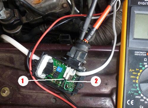 проверка потенциометра Audi AAD